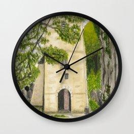 St Illtyd's Church, Oxwych Bay (Wales) Wall Clock