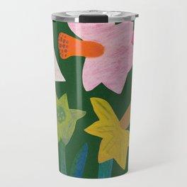 Daffodils and ladybird Travel Mug