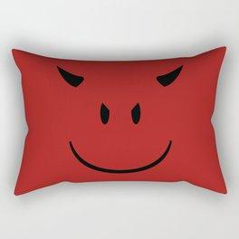 Smiley Devil Rectangular Pillow