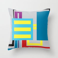 P.H. - Machine Throw Pillow