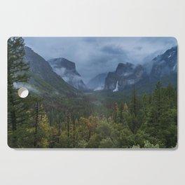 Yosemite Tunnel View Cutting Board