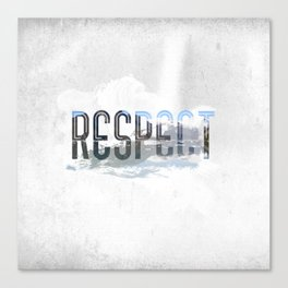 Respect - Nature Canvas Print