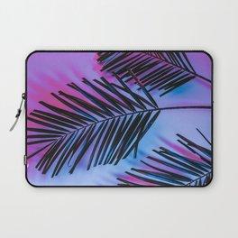 Seapunk Palm Leaves, Palm Leaf, Palm Tree Lover, 80s vibes Laptop Sleeve