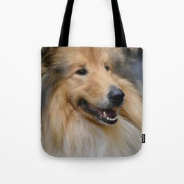 Rough Collie Tote Bag