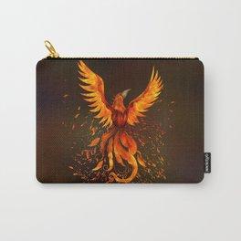 Rising Phoenix Bird  Carry-All Pouch