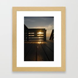 Floorboards  Framed Art Print