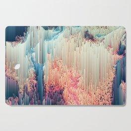 Fairyland - Abstract Glitchy Pixel Art Cutting Board