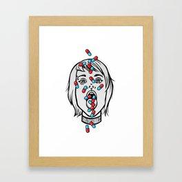 Addicted Framed Art Print