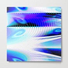 Flow or Crash Metal Print