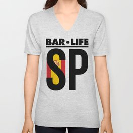 Spain Bar•Life Unisex V-Neck