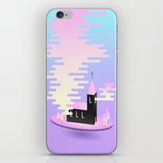 Smoky church iPhone Skin