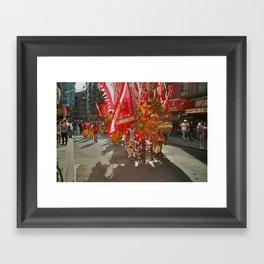 Chinese New Year Parade Framed Art Print