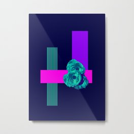 Neon Roses #society6 #roses Metal Print