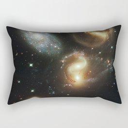 Galactic wreckage Rectangular Pillow