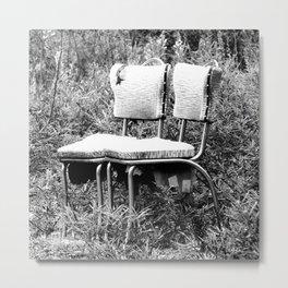 Have A Seat Metal Print