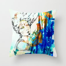 Tribal Beauty 4 Throw Pillow