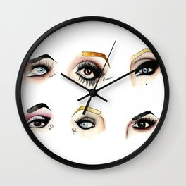 Eye see Drag Wall Clock