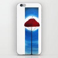 moonrise iPhone & iPod Skins featuring Moonrise by Massimiliano Feroldi