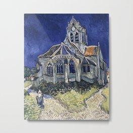 Church At Auvers Sur Oise by Van Gogh Metal Print
