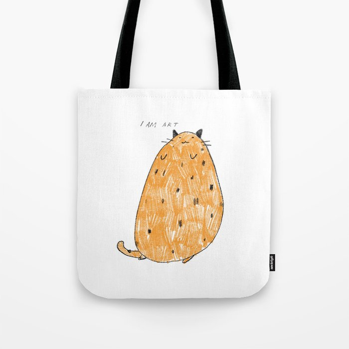 I am art Tote Bag