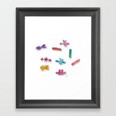Goody Barettes Framed Art Print