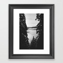 Window Frames Framed Art Print