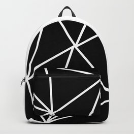 MODERN GEOMETRY PATTERN (BLACK-WHITE) Backpack