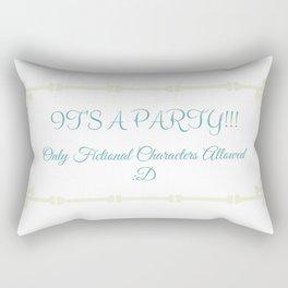 Fictional Party Rectangular Pillow