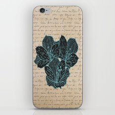BURLAP & FLOWERS 3 iPhone & iPod Skin