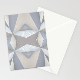 Origami - White Stationery Cards