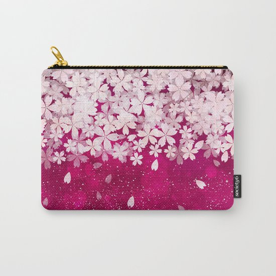 Cherry blossom #13 Carry-All Pouch
