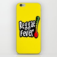 reggae iPhone & iPod Skins featuring Reggae Fever by Marvin Porcher