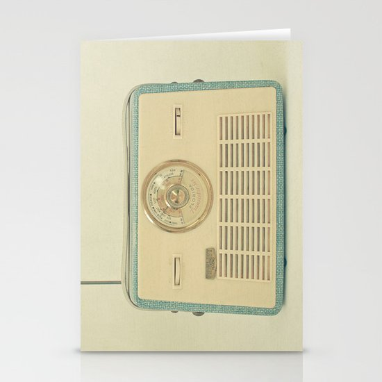Radio Days Stationery Cards