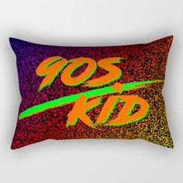 90s Kid Rectangular Pillow