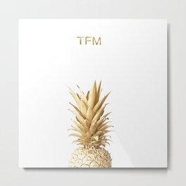 The Fit Munchies - Piña Metal Print