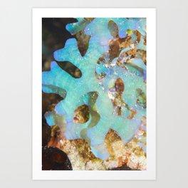 Hypnotic seaweed Art Print