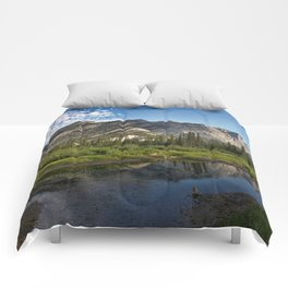 Mountain River Photo Comforters