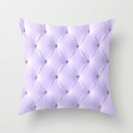 lavender chesterfield Throw Pillow