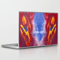 the hound Laptop & iPad Skins featuring Hell Hound by PlaidRed
