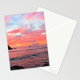 Caribbean Sunset Stationery Cards