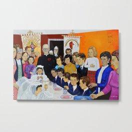 The Breakfast of the First Communion El Desayuno Juan Manuel Rocha Kinkin Metal Print