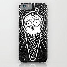 Creamy Cranium (Black) Slim Case iPhone 6s