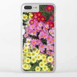 Flower Show Clear iPhone Case