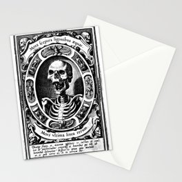 Death is the Last Line Stationery Cards