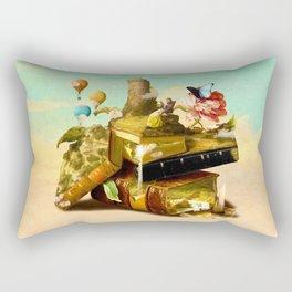 To Lands Away Rectangular Pillow