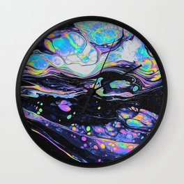 GLASS IN THE PARK Wall Clock