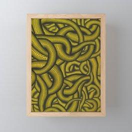 Polka dots by Yayoi kusam Framed Mini Art Print