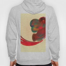 the red   (A7 B0131) Hoody