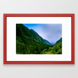 American Fork Canyon Framed Art Print