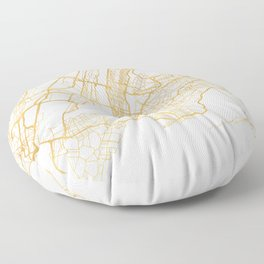 NEW YORK CITY NEW YORK CITY STREET MAP ART Floor Pillow